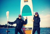Stand Up Paddling / SUP / Work and Fun with SUP Board!