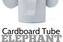 elefant - elephant craft