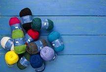 Cheerful Colours / Cheerful Colours in Briar Patch 100% wool knitting yarn