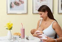 Breastfeeding / Feeding a baby, nutrition for mom and baby, breast feeding / by Victoria Smith