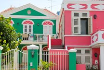 Coloured Buildings