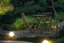 Lumină pentru grădină / Idei de iluminat pentru grădină
