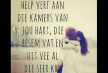 harts-woorde Afrikaans