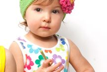 Baby and kid hats, earwarmers and headbands / Crocheted and knitted baby and kid hats, etc. / by Jeanie Catron