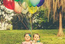 Twins 1st Birthday