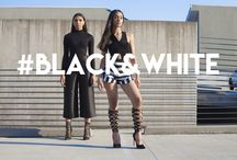#Black&White / No Grey Area! Black & White Looks That Are Beyond Dope!
