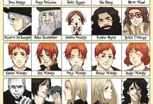 Manga harry potter