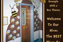 Classroom door displays