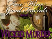 Wine Tasting Murder Mystery -  Murder Mystery Party / This is an exciting wine-tasting murder mystery party for 5-8 guests. Get your corkscrew & wine goblets ready for some fun! This game can be played with all female or Co-Ed. The expansion pack is 4F/4M.