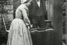 Woman working class, 1850s