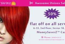 Salon / Get discount in salons