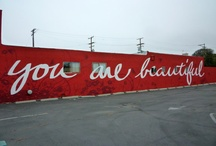 Murals / Images of cool murals that have inspired me. Lifestyle pictures.