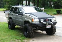 Jeep Grand Cherokee ZJ 1993-1998 / The Grand Cherokee ZJ model from 1993-1998 photos and examples.