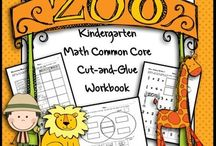 Math / Everything you need to supplement your study of math in preschool, kindergarten or first grade, including songs, poems, books, crafts, etc.