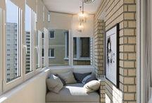 хранение на балконе