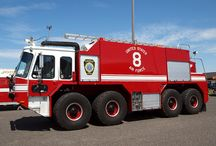Fire Trucks / I was a USAF Firefighter for twenty years. 'Nuff said... / by J.P. McCrosson