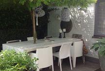 Home sweet home; garden