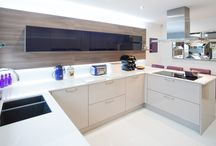 Purple Reigns / Adding a bold touch of vibrancy to what is a beautiful new working space, homeowner Polly Din is delighted with her new kitchen.