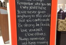 Quotes to Live By / Quotes that are inspirational, uplifting, positive, fun, etc.