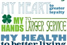 4H - Head, Heart, Hands, Health / Helping 4H groups serve their community. / by Rada Cutlery