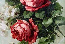 Розы для декупажа