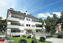Projekty domów wielorodzinnych / Firma architektoniczna, oferująca ponad 1000 typowych projektów domów jednorodzinnych oraz projekty garaży.