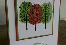 Thanksgiving / This is a time for family and friends to gather.  Decorate with the symbols of this holiday on your cards.