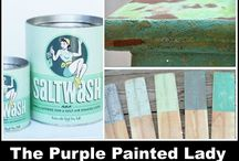 Give-A-Way's on Facebook / The Purple Painted Lady tries to do two to four GIVE-A-WAYs on Facebook monthly.  Items can be products that we sell ranging from paint to home decor OR creations made by fellow artist or businesses that we network with.