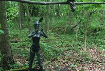 La Forêt Enchantée / Dans la Forêt Enchantée se trouvent les Elfes de Vullierens, également appelés les Calengwirith