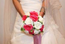 Ramos de novia artificiales / Ramos artificiales de novias
