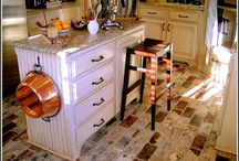 potential kitchen renovations  / by Vicki Miller