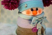 снеговики и морозы