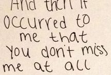 you dont care about me anymore