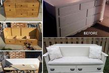 møbler og oppussing