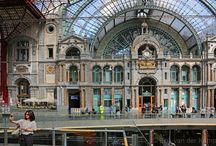Belgie / Foto's gemaakt in Belgische steden en dorpen.