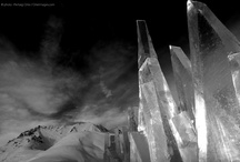 Ice Skyline / Art installation