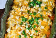 Costco rotisserie chicken recipes / by Jennifer Moosman