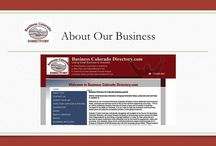 About Us: Business Colorado Directory / An online business directory with a missionTo connect worldwide customers to Colorado small business owner's unique products and services in a statewide directory and organization that brings their unique business concept to life