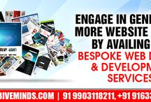 Bespoke Web design & Web development Services! / Engage in generating more website traffic by availing our bespoke web design & development services!