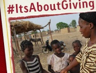 It's About Giving / @compassion / by Christina Fox