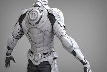 trajes roboticos
