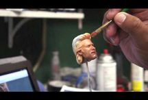 1/6 scale head painting