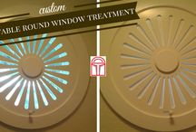 Gallery / Custom window treatment projects by VU Window Treatment of Verticals Unlimited.