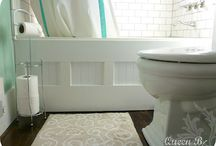 Bathroom makeovers / by Stephanie Rightmire
