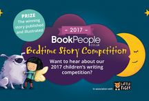 Bedtime Story Competition 2017 / Do you know a child aged between 5 and 11 years old who has a brilliant idea for a bedtime story? Would they love to see it published as a fantastic picture book? Book People, in association with Little Tiger, are on the lookout for the nation's best storyteller!  http://bit.ly/2sVv5fM