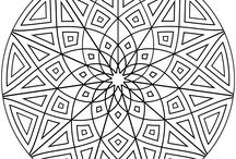 Kaleidoskopes coloring