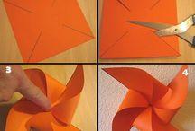 Urob si sám veternik papierovy