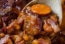 Baked Beans smoked Sausage