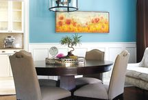 COLOUR SCHEMES / Interesting colour schemes. / by Lisa Dickner-Goulet, Interior Decorator