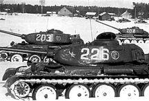 Medium tank T-44 / Czołg średni T-44